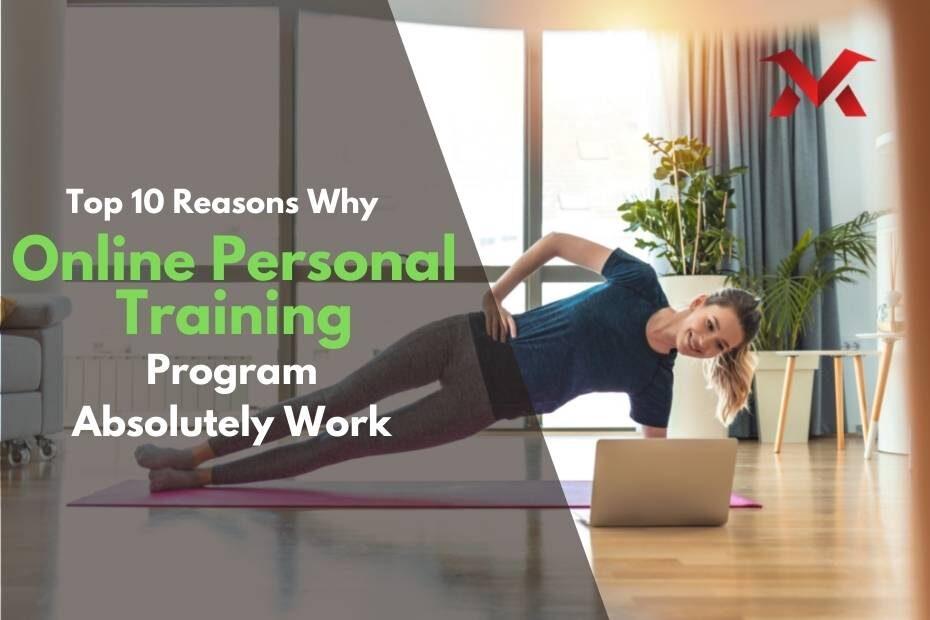 Online personal training program benefits VMax Fit
